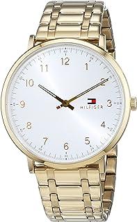 Tommy Hilfiger Men 1791337 Year-Round Analog Quartz Gold Watch