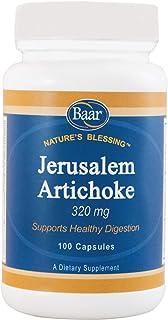 Baar Organic Jerusalem Artichoke, 320 mg, 100 Capsules
