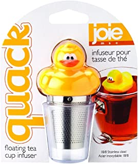 MSC International 11040 Joie Quack Duck Floating Tea Infuser, 18/8 Stainless Steel Infuser