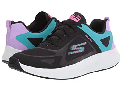 SKECHERS Go Run Pulse (Black/Multi) Women