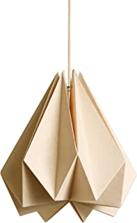 Brownfolds Paper Origami Lamp Shade; Vanilla Bliss Single Pack (Light Peach)