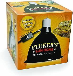 Fluker's 27004 Mini Sun Dome Reptile Lamp - Deep Dome Fixture, 5.5-Inch