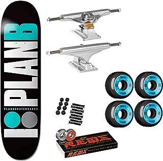 Plan B Skateboard Complete Team OG Teal 8.25