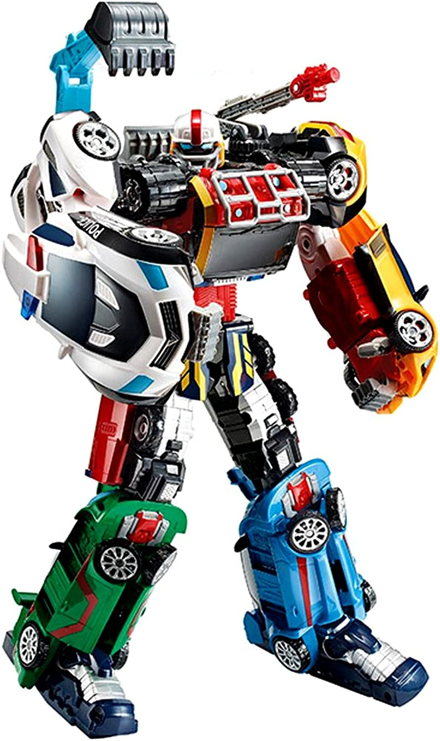 Young Toys Tobot Athlon magma6 Toy Robot Transforming Robot Transformer Toy Carbot Six-unit robots