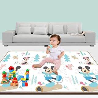 Newborn Play mat fence,High Fashion Foam Floor mat Soft Thick Waterproof Easy to Clean Hypoallergenic Portable Baby Play m...