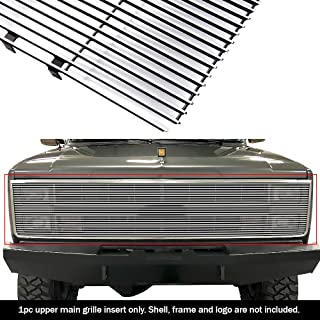 APS Compatible with 1981-1987 Chevy GMC Pickup Suburban Blazer Jimmy Phantom Billet Grille Grill 90 N19-A20258C