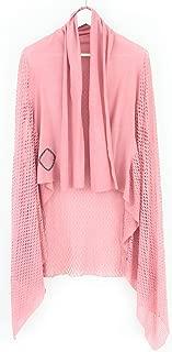 ミハイル ギニス アオヤマ MICHAIL GKINIS AOYAMA 着る ART ストール [登録意匠] 日本製 ハイテク ニット MADE IN TOKYO ギリシャ 大判 コットン Cotton シャーベットピンク pink