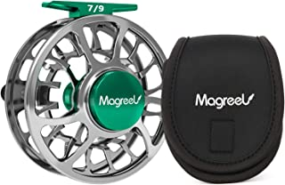 Magreel Fly Reel and Spare Spool Fly Fishing Reel with CNC-machined Aluminum Alloy Body 3/4, 5/6, 7/9 Weights