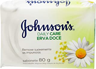 Sabonete Barra Erva Doce, Johnson'S, 80G