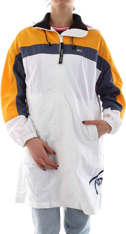 Tommy Jeans - White Jacket Women Parka Jacket