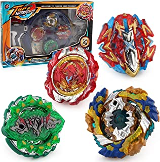 Mudent Battling Top Bay Burst Battle Avatar Attack Battle Set with Two Launcher and Grip Starter Set