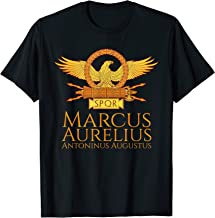 Roman Emperor Marcus Aurelius Stoic Philosophy SPQR Gift T-Shirt