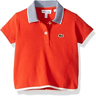 Lacoste Girl Semi Fancy Pique Polo