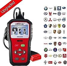 KONNWEI OBD2 Scanner Professional Car OBD II Scanner Auto Diagnostic Fault Code Reader Automotive Check Engine Light Diagnostic O2 Sensor EOBD Scan Tool for All OBDII Protocol Cars Since 1996 (KW818)