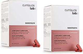 CUMLAUDE Serotogyn Complemento Alimenticio para Disminuir los Sofocos durante la Menopausia. Pack