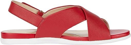 Tango Red Tumbled Leather