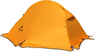 Azarxis 1 2 Man Person 3 Season Tent for Camping Backpacking Hiking Easy Set Up Waterproof Lightweight Professional Double Layer Aluminum Rod
