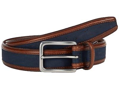 Torino Leather Co. 35 mm Genuine Portuguese Cork w/ Waxhide Trim (Navy) Men