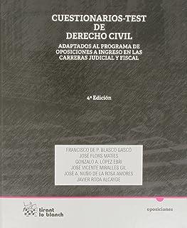Cuestionarios Test de Derecho Civil