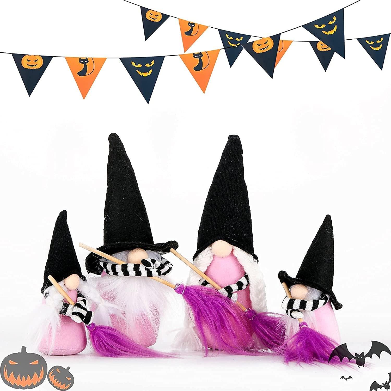 Halloween Gnome Family Shelf Sitters