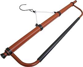 きものハンガー(伸縮式)帯掛け付 武道着や柔道着のお手入れにも。帯掛け部分に袴も掛けられます。