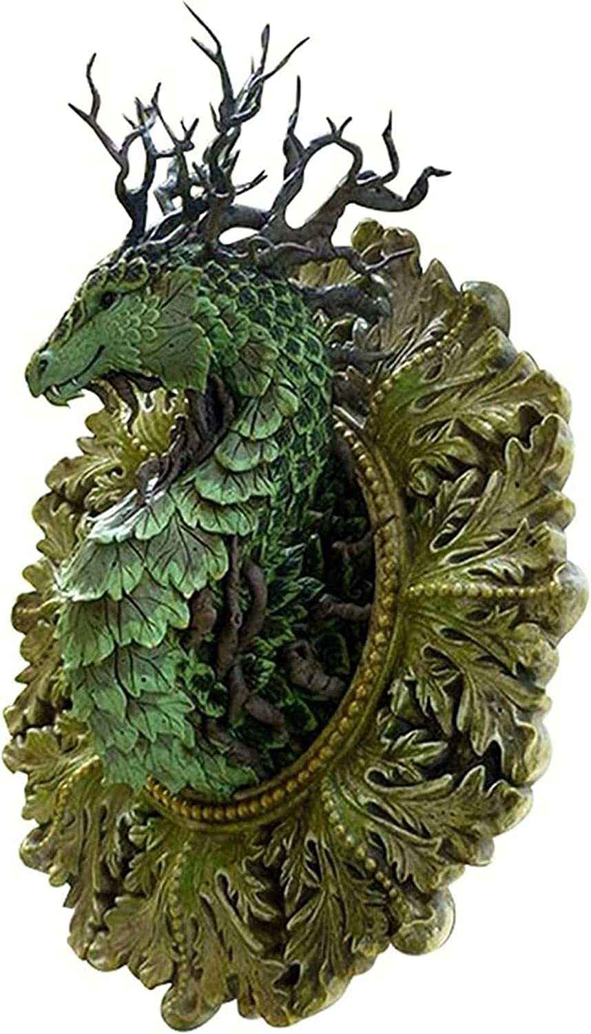 Outlet ☆ Free Shipping Figurine Statue Austin Mall Forest Dragon Figurines Wa Resin Statues