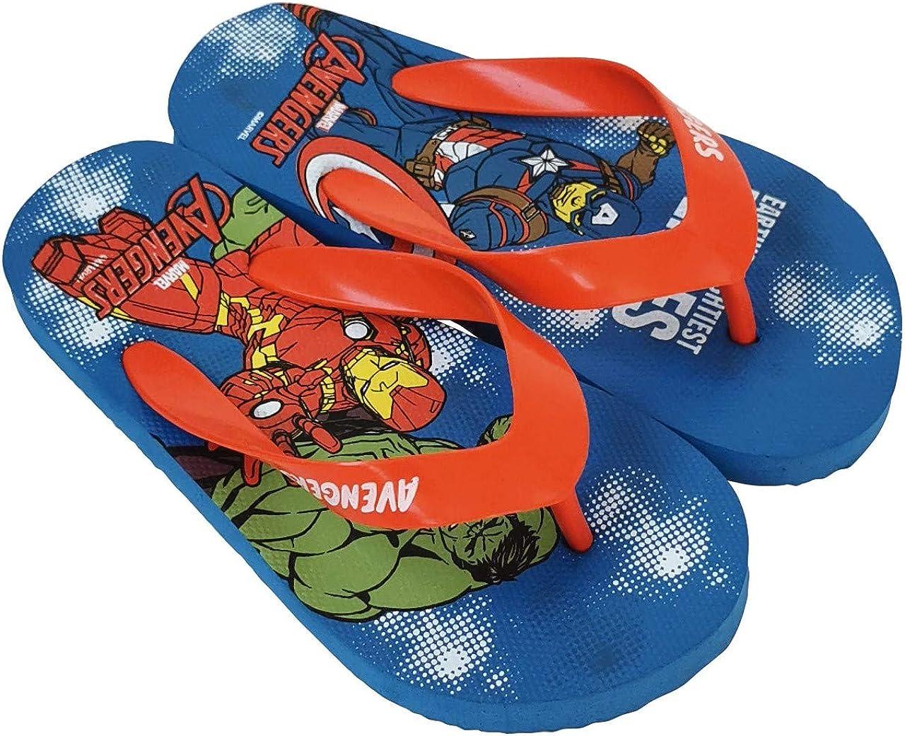 Flip-Flop Avengers Marvel per bambini Infradito Avengers Marvel per spiaggia o piscina