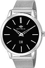 Eddy Hager Black Dial and Slim Men's Watch EH-224-BK