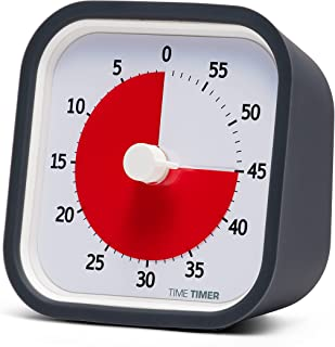 Time Timer MOD (Charcoal), A Visual Countdown 60 Minute Timer for Classrooms, Meetings, Kids and Adults Office and Homesch...