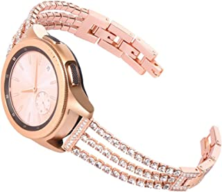 ZAALFC 20 Mujeres DE 22 MM Reloj de Reloj para Samsung Galaxy Watch Active 2 44mm 40mm Pulsera para Galaxy Watch 46mm 42mm...