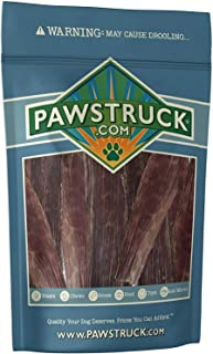 Pawstruck Joint Health Beef Jerky Dog Treat Chews - Gourmet, Fresh & Savory Beef Gullet Jerky - Naturally Rich in Glucosamine and Chondroitin - Promotes Healthy Joints and Tissue Growth