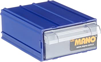 Mano Çekmeceli Kutu, Mavi, Mk/20