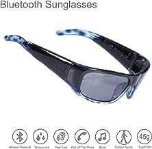 headphones in sunglasses