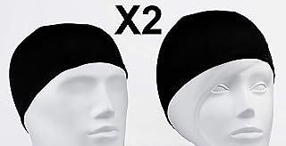 comprar comparacion Emerpack 2X Gorro de Baño de Tela para Piscina o SPA/Gorro de Natacion Comodo y Ligero de Tejido Poliester para Adulto Hom...