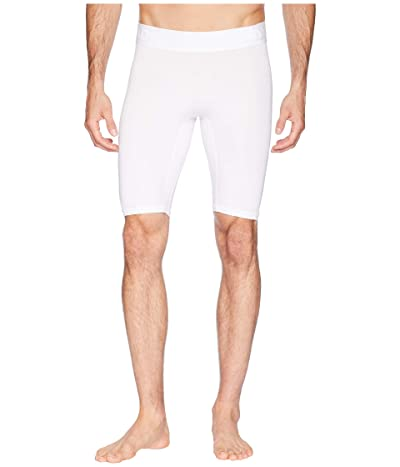 adidas Alphaskin Sport Tight Shorts (White) Men