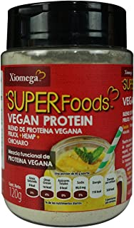 Xiomega-Superfoods Proteína Vegetal, 120 g