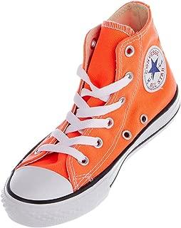 Chuck Taylor All Star Hi Top Hyper Orange Youth 11.5