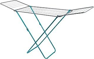 Beldray Rack vêtements Turquoise à Dessus Plat LA023810TQ, Espace de séchage de 18 mètres, Pliable, idéal pour Les cintres...