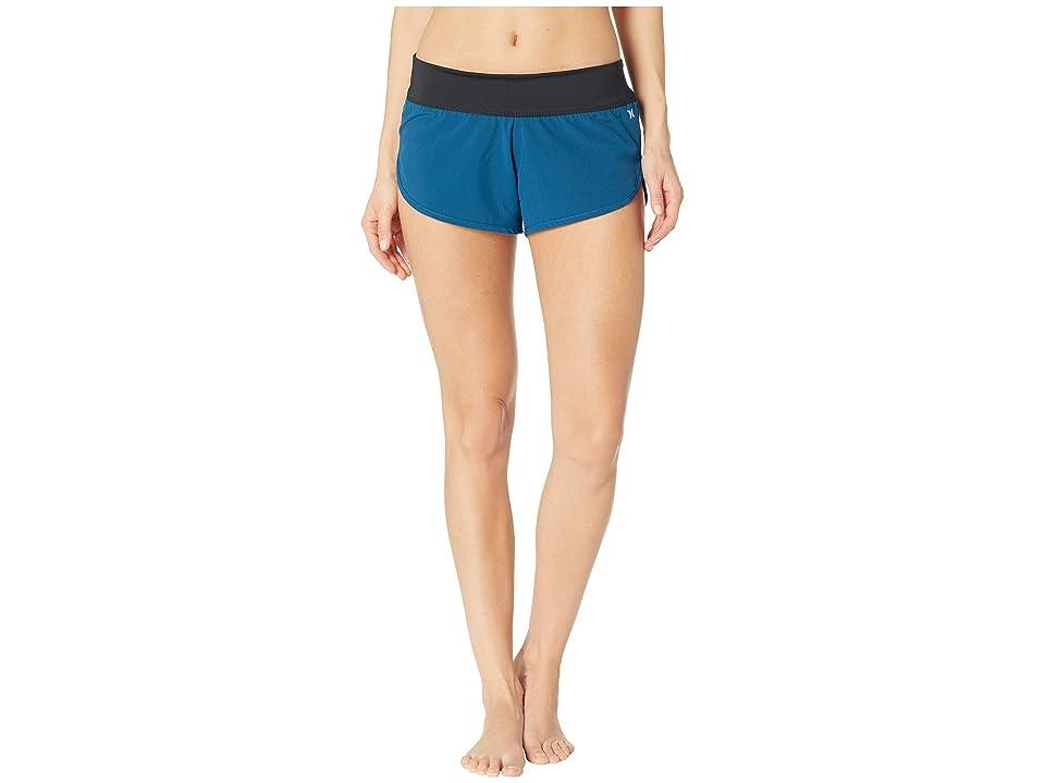 Hurley Phantom Beachrider Boardshorts (Blue Force) Women