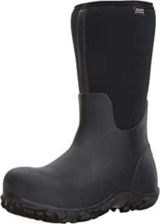 Bogs Men's Workman Waterproof Insulated Composite Toe Work Rain Boots
