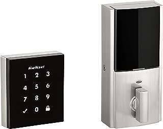Kwikset 99540-001 Obsidian Keyless Z-Wave Electronic Touchscreen Deadbolt, Satin Nickel