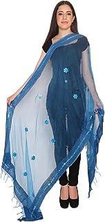 indian tradional shawl-dupatta-chunni-stole-scarf-long scarves abstract duppatta