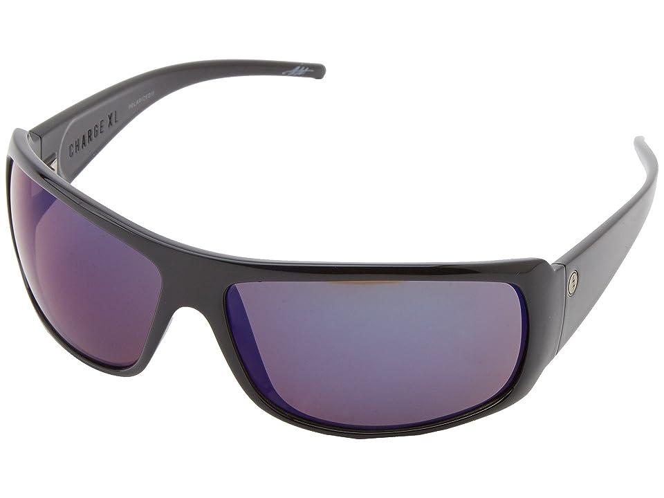 Electric Eyewear Charge XL Polarized (Gloss Black/M2 Blue Polar) Sport Sunglasses