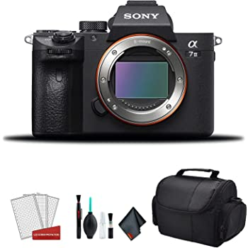 Sony Alpha a7 III Full Frame Mirrorless Digital Camera (Body Only) ILCE7M3/B - Bundle Kit (Renewed)
