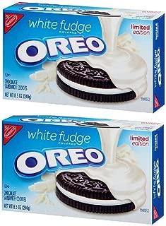Nabisco White Fudge Oreo Limited Edition, 8.5 oz (Pack of 2)