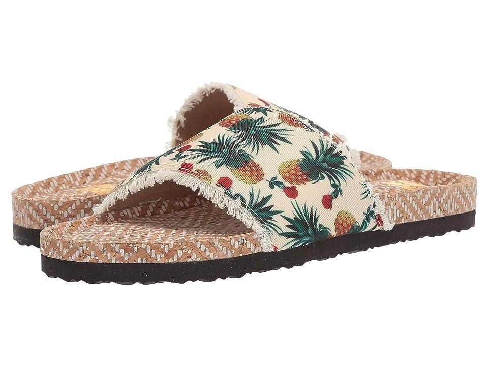 MUK LUKS Sophia (Ivory Multi) Women's Sandals