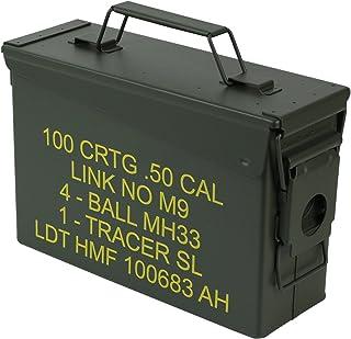comprar comparacion HMF 70010 Caja de Munición, US Ammo Box, Caja de Metal, 27,5 x 17,5 x 9,5 cm, Verde
