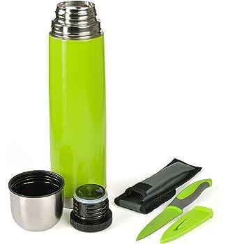 GRÄWE Isolierflasche 1L grün