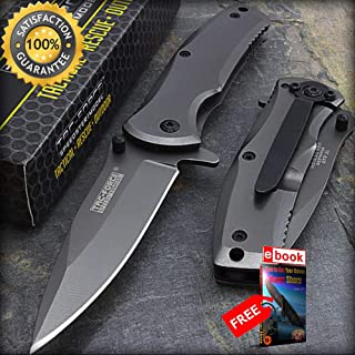 10 x 6.25 TAC FORCE TITANIUM SPRING ASSISTED FOLDING POCKET KNIFE Combat Tactical Knife