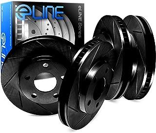 Orlando FR//RR PSport Black Drill Slot Brake Rotors Fit 2011-2015 Chevrolet Volt